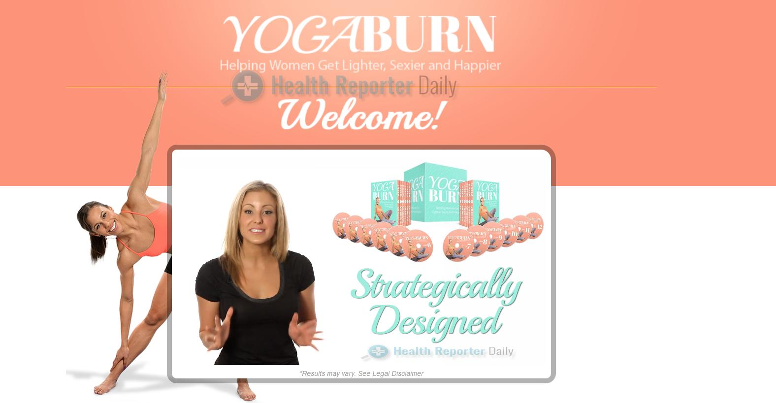 yoga burn free download